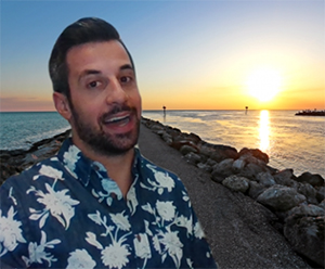 Level Up Your Video Chats with a Beach Background