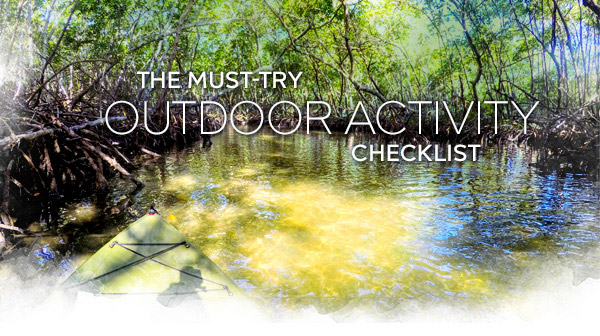 The Must-Try Outdoor Activity Checklist