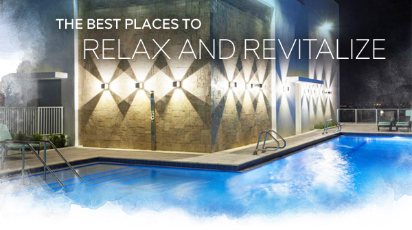 The Best Places to Relax and Revitalize