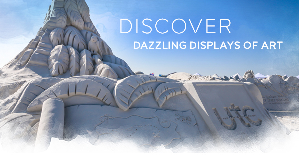 Discover Dazzling Displays of Art