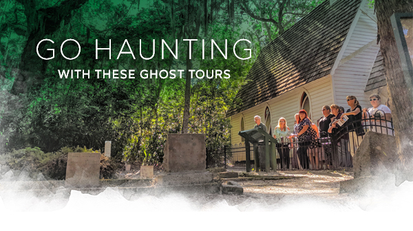 Go haunting with these ghost tours