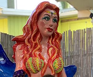 Heed the siren's call in Venice, where enchanting mermaids await.