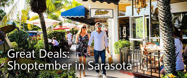 Great Deals: Shoptember in Sarasota