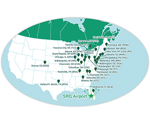 SRQ Continues to Grow, Adding 2 New Carriers, Allegiant and Frontier