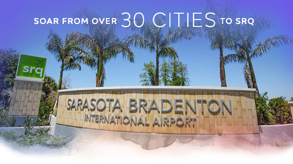 Soar from Over 30 Cities to SRQ